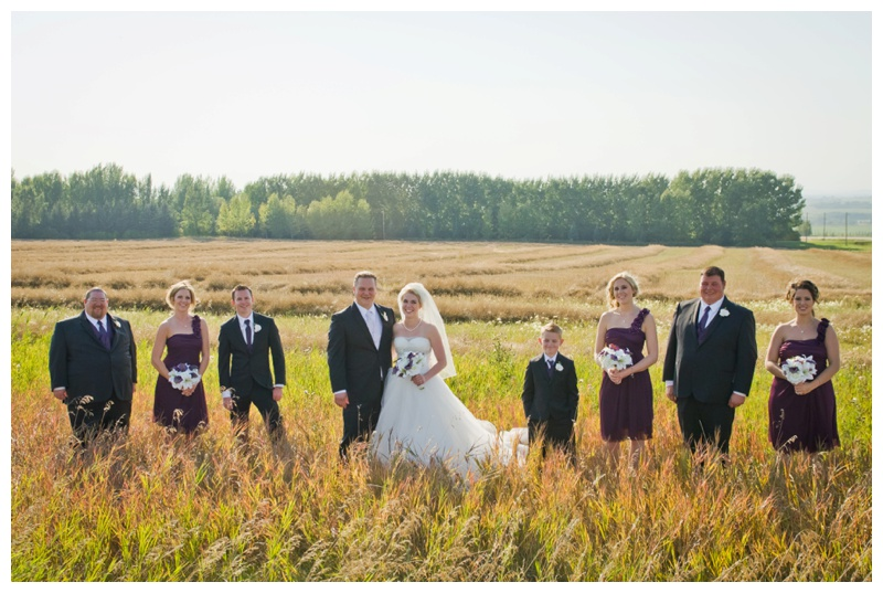 Alberta Country Wedding Photos