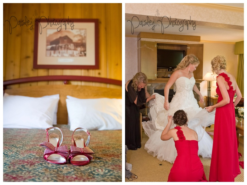Fairmont Resort Invermere Wedding
