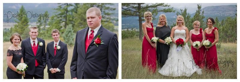 Fairmont Ski Hill Wedding Photography