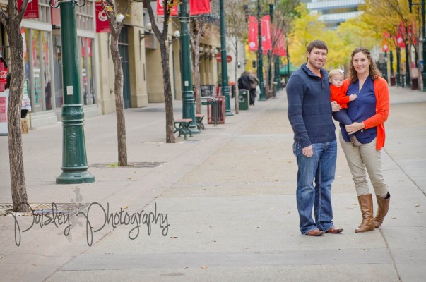 Stephens Fall Family Session – Calgary Downtown Family Photographer