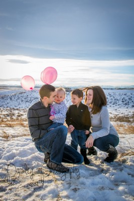 C&C Gender Reveal Photos – Cochrane Family Photographer