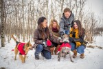 Winter Calgary Family Photography