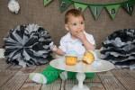 Boy Cake Smash Photography Airdrie