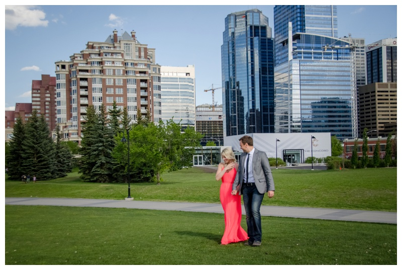 Engagement Photos Calgary Downtown