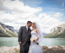 Lake Minnewanka, Lake Minnewanka Wedding, Lake Minnewanks Wedding Party, Lake Minnewanka Wedding Photography, Banff Wedding Photography, Banff Wedding Photographer, Calgary Wedding Photography, Calgary Wedding Photographer