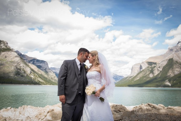 Town of Banff Wedding Photographer – J+M's Banff Wedding Day