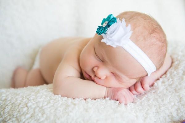 Little Miss Julie Rose – Calgary Newborn Photographer