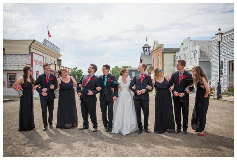 Heritage Park Wedding Photos