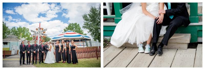 Heritage Park Wedding Photography Calgary