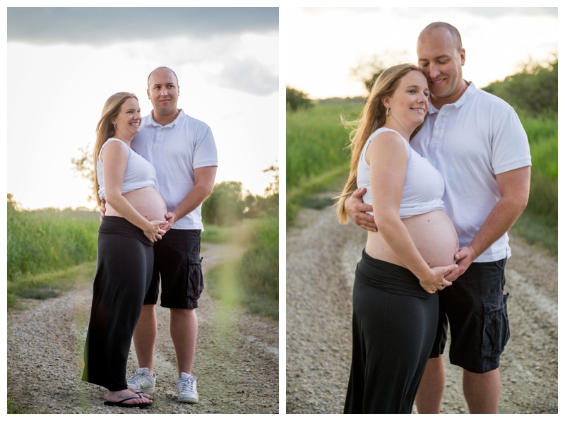 Gull Lake Maternity Photos