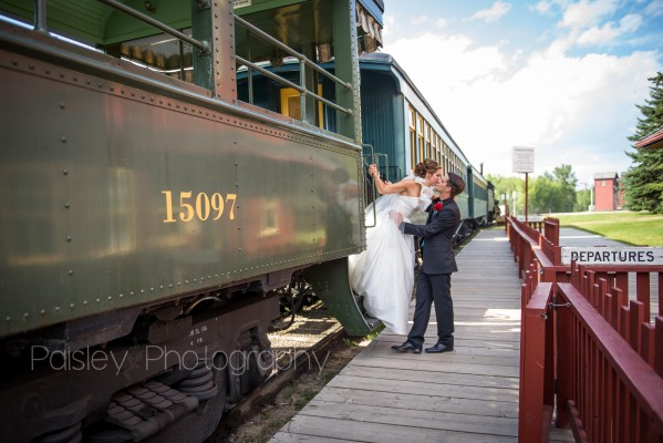 M+R's Gasoline Alley Wedding – Calgary Wedding Photographer