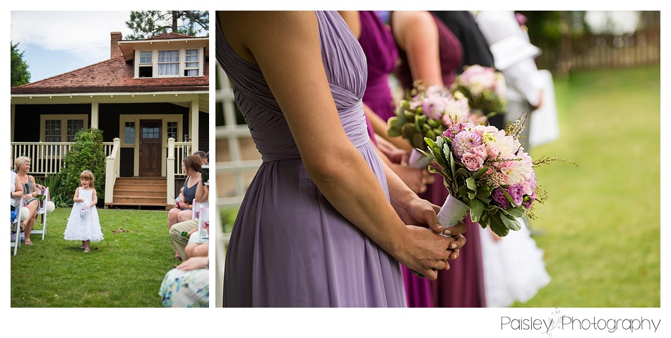 Ombre Bridesmaid Dresses, Kopje Park Wedding Ceremony, Okanagan Park Wedding Photography, Kelowna Park Wedding Ceremony, Kelowna Wedding Photography, Kelowna Wedding Photographer, Father & Bride Photography