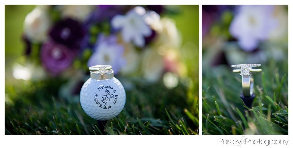 Golf Course Wedding Details, Golf Ball Wedding Favours, Cochrane Wedding Photography, Cochrane Wedding, Cochrane Golf CPurse Wedding, Calgary Wedding Photography, Calgary Wedding Photographer, Glen Eagles Golf Course Wedding