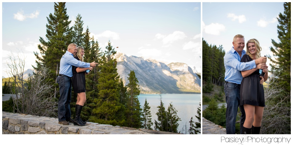 Rocky Mountain Engagement Photography Banff