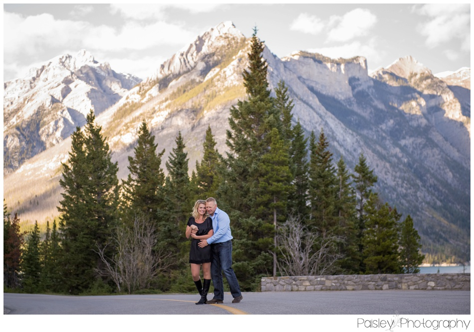 Banff Mountain Engagement Photography