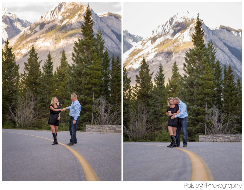 Banff Mountain Engagement Photographer