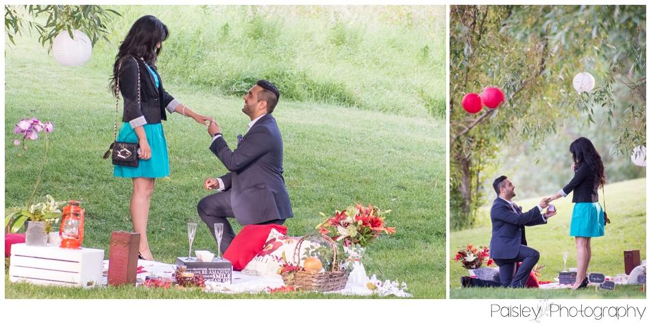 Calgary Surprise Proposal Photography