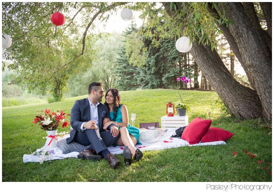 Calgary Wedding Proposal Photography