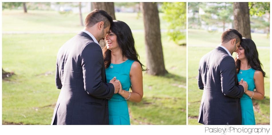 Calgary Picnic Engagement Photography