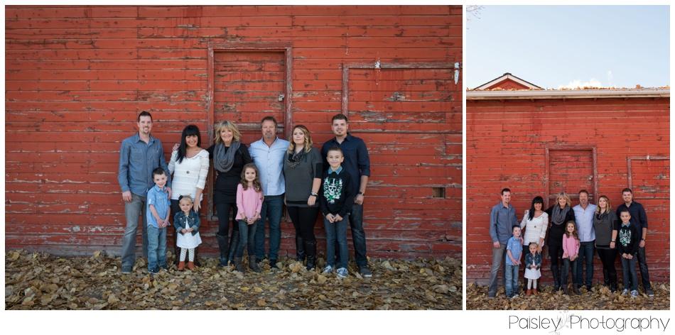 Calgary Autumn Family Photography, Calgary Fall Family Photography, Calgary Family Photography, Sunset Family Photos, Calgary Sunset family Photography, Cochrane Family Photography, Cochrane Family Photographer, Red Barn Family Photos, Family of Five Family Photos, Family Photos Calgary