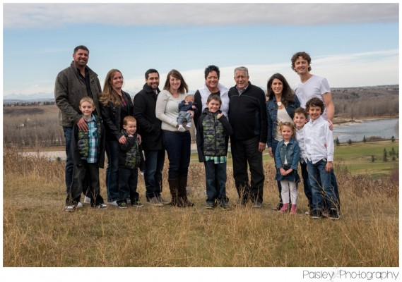 The Peddie Family ~ Calgary Extended Family Photography