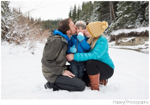 Perciballi Family Session- Calgary Winter Family Photography