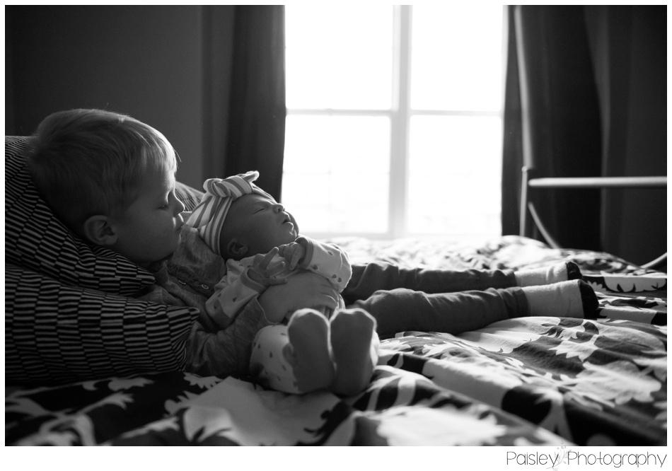 Sibling Newborn photography, Calgary Newborn Photography, Calgary At Home Newborn Photos, Calgary Lifestyle Photography, Sibling Love, Newborn Photos, Baby Sister, Calgary Lifestyle Photography, okotoks Newborn Photographer