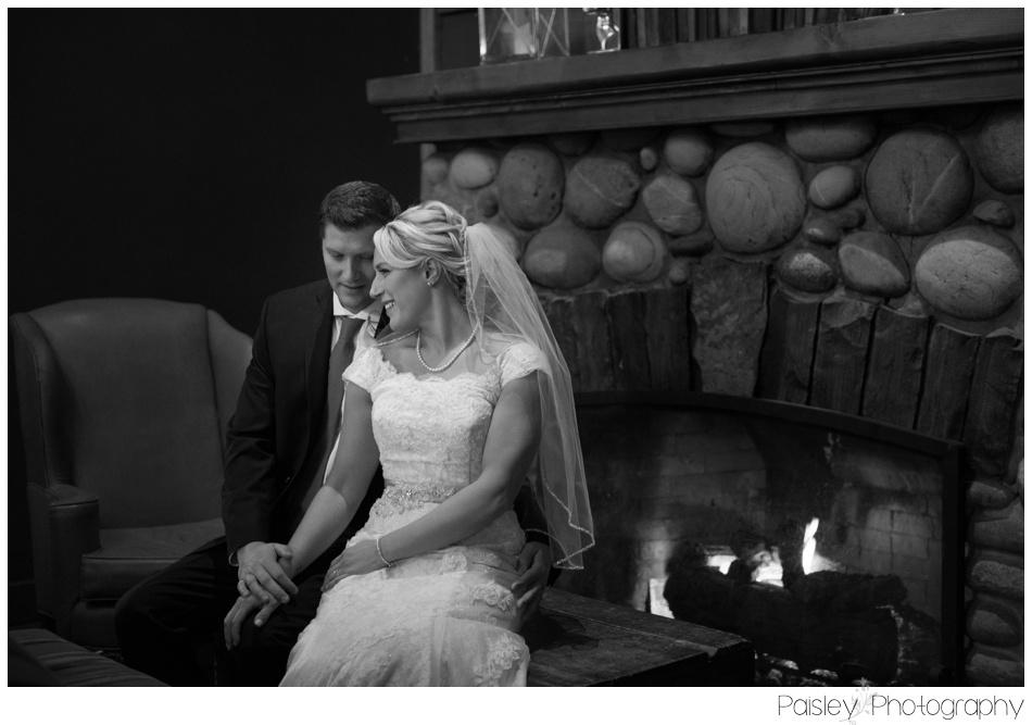 Banff Winter Wedding, Banff Wedding, Banff Wedding Photographer, Mountain Wedding, Rocky Mountain Wedding, Rocky Mountain Wedding Photographer, Bridal Party Photography, Snowy Winter Wedding Photography