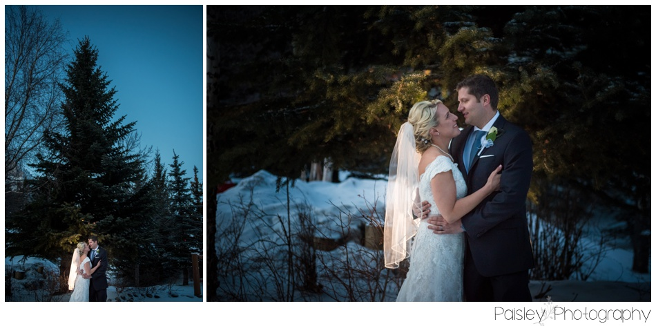 Banff Winter Wedding, Banff Wedding, Banff Wedding Photographer, Mountain Wedding, Rocky Mountain Wedding, Rocky Mountain Wedding Photographer, Bridal Party Photography, Snowy Winter Wedding Photography