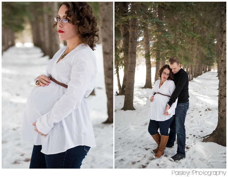 Edworthy Park Maternity Photography, Calgary Winter Maternity, Calgary Maternity Photography, Maternity Photographer, Calgary Winter Maternity, Edworthy Park, Alberta Maternity Photos