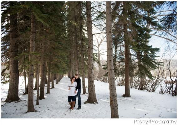 Kathleen's Forest Maternity ~ Calgary Edworthy Park Maternity Photography