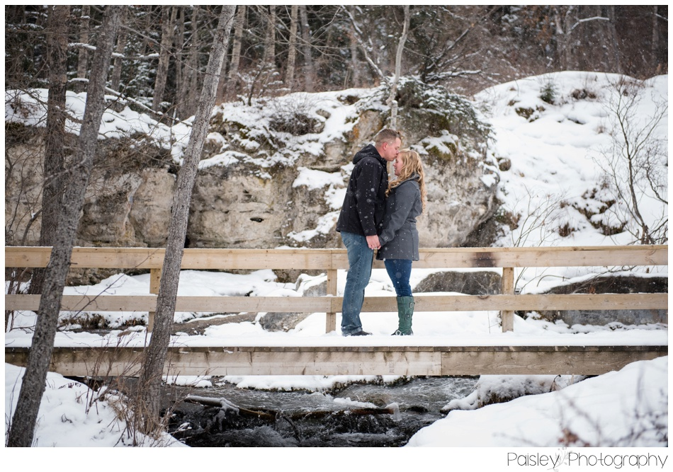 Cochrane Engagement Photographer, Cochrane Engagement Photography, Big Hill Springs Park, Big Hill Springs Park Photography, Calgary Photographer, Winter Engagement Photography