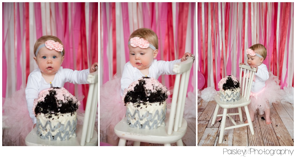 Calgary Cake Smash Photography, Cake Smash Photographer Calgary, Shabby Chic Cake Smash, Children's Portrait Photographer, 1st Birthday Photography