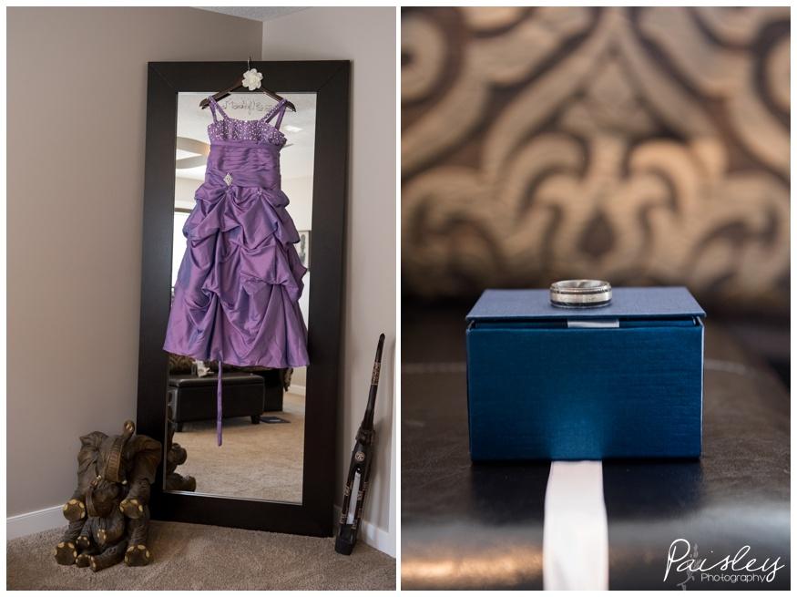 Purple Wedding Details, Calgary Wedding Photography