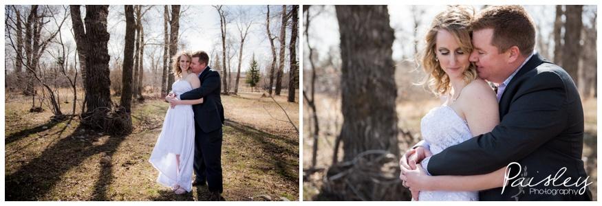 Spring Forest Wedding Photography Okotoks