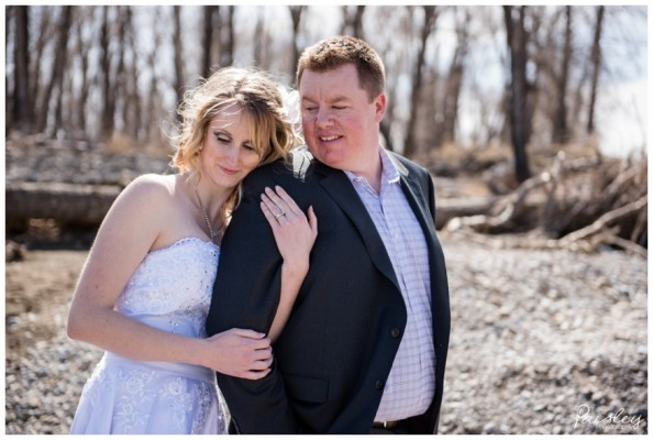 Okotoks Wedding Photographer – Chad & Sheena's Intimate Spring Wedding