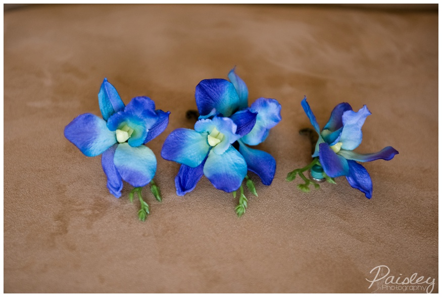Orchid Wedding Boutonnière