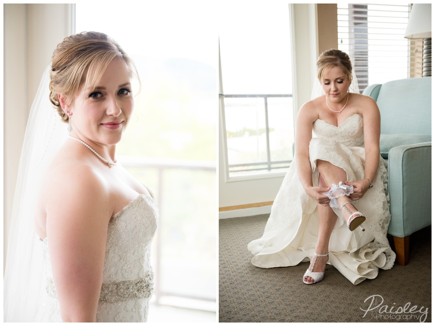 Blushing Bride Calgary Wedding Photographer