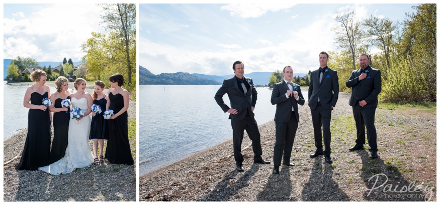 Kelowna Wedding Party Photography