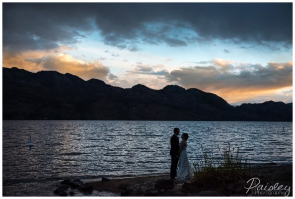 Kelowna Wedding Photographer- David & Dayna's The Cove Lake Side Resort Wedding