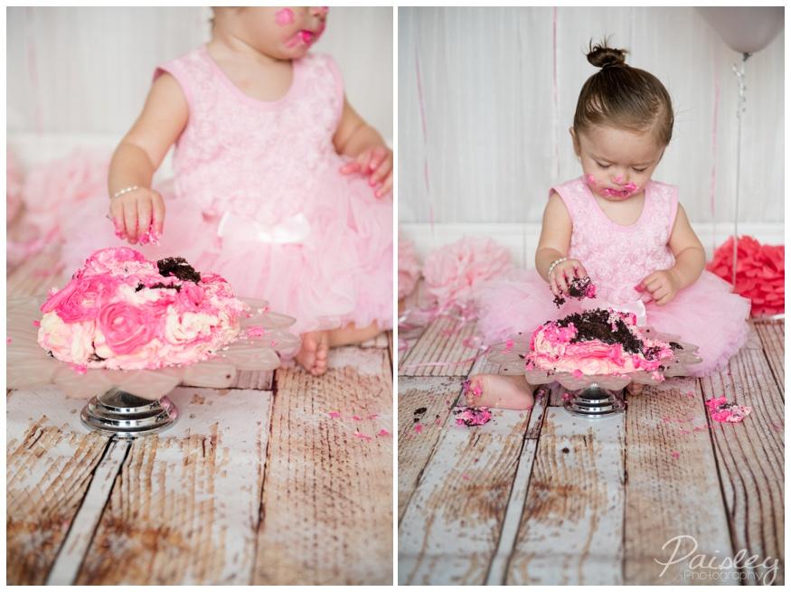 Cake Smash Photography Alberta