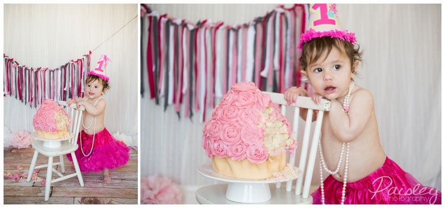 Calgary Cake Smash Photography
