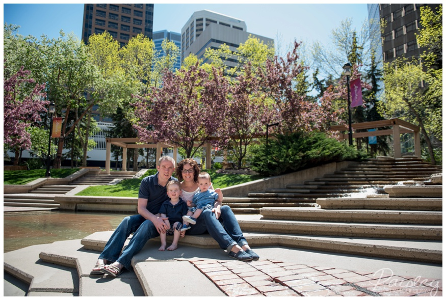 Calgary Downtown Family Photography