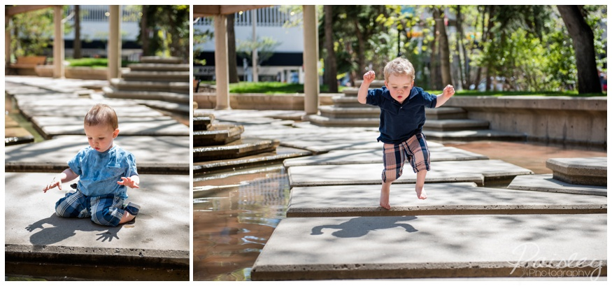 Downtown Calgary Family Photography