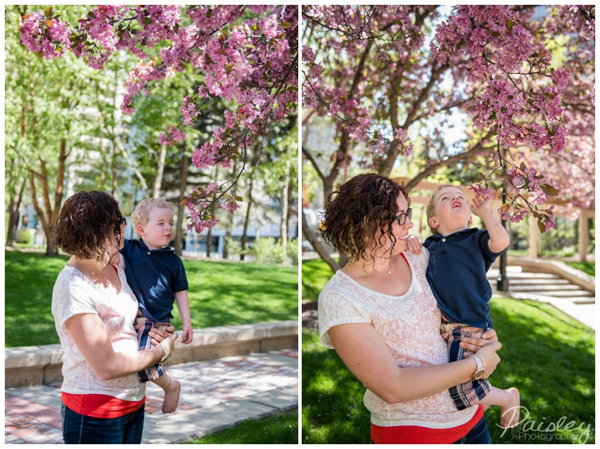 Spring Time Family Photography Calgary