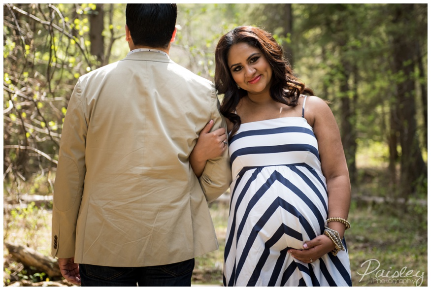 Spring Maternity Photography Calgary
