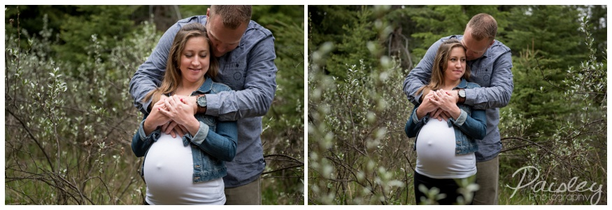Spring Couple Maternity Photography Calgary