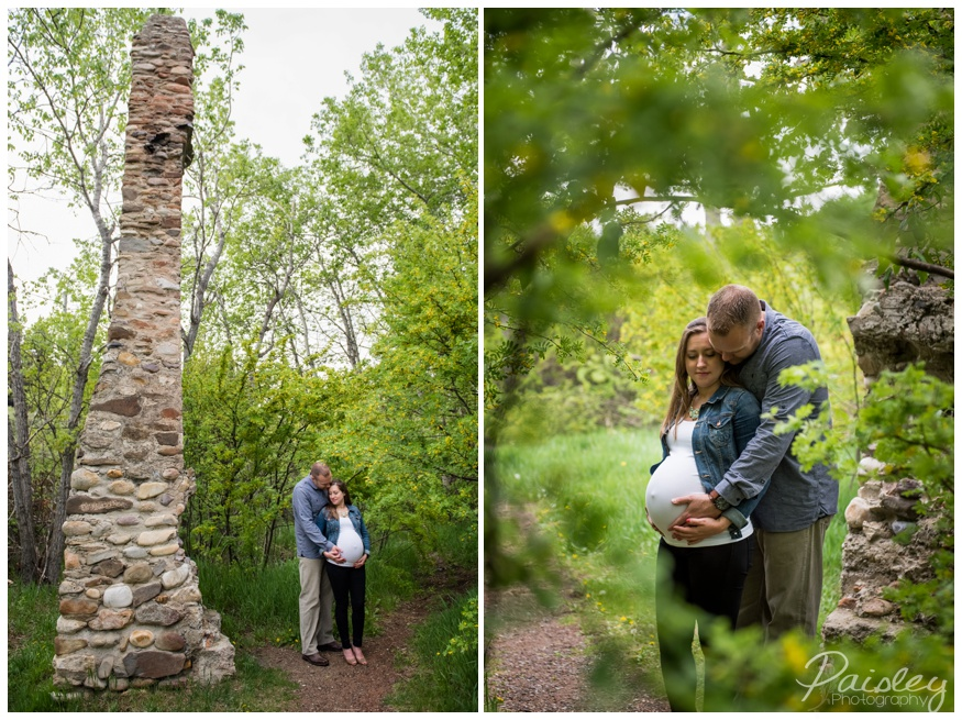 Old Farmstead Maternity Photography Calgary