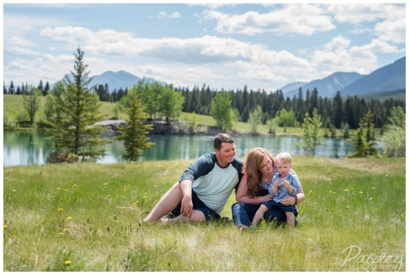 Canmore Family Photography- Dustin & Jenna's Quarry Lake Family Session ~