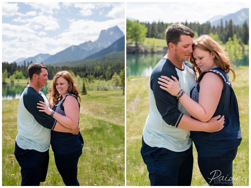 Canmore Engagement Session Quarry Lake